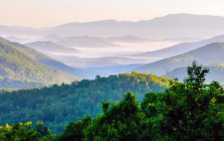 Come stay with Ski Mountain Chalets and don't miss these Smoky Mountain sunrises!