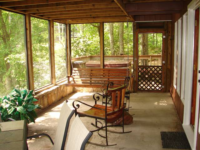 Gatlinburg Cabin Rentals Great Front Porches Ski